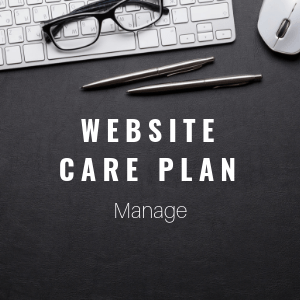 website care plan managed