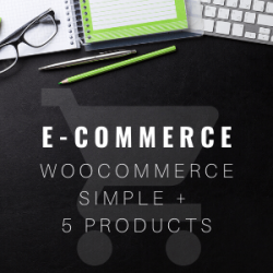 ecommerce five product store