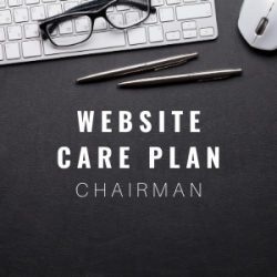 Website Care Plan - Chairman
